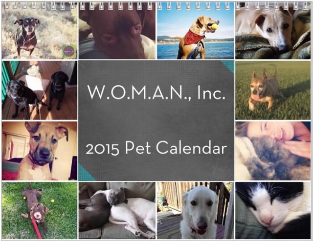 2015 Pet Calendar